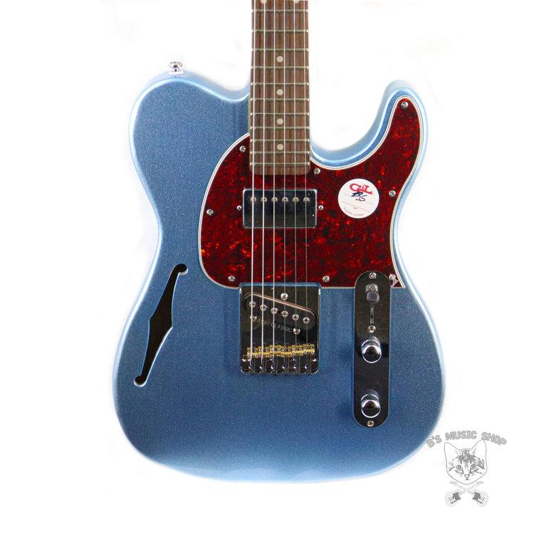 G&L G&L Tribute Bluesboy Semi-Hollow - Lake Placid Blue