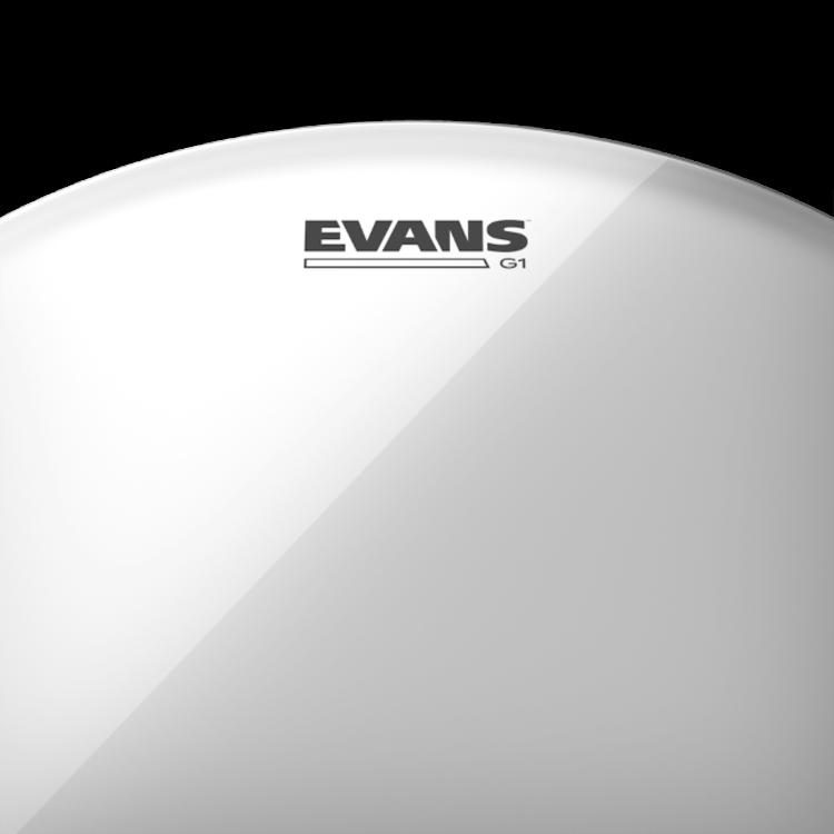 Evans Evans G1 Clear Drum Head, 10 Inch