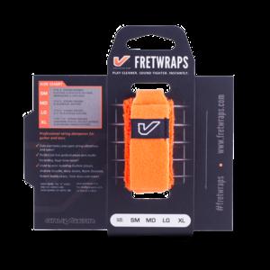 "Gruv Gear Gruv Gear FretWraps HD ""Flare"" Guitar String Muters/Dampeners 1-Pack (Orange, MD)"