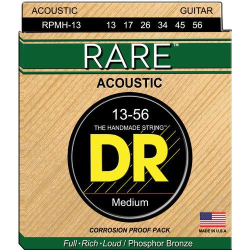 DR DR Rare Phosphor Bronze Acoustic Guitar Strings: Medium 13-56