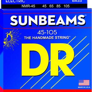 DR DR Sunbeam Nickel Plated Bass Strings: Medium 45-105