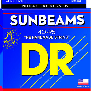 DR DR Sunbeam Nickel Plated Bass Strings: Extra Light 40-95