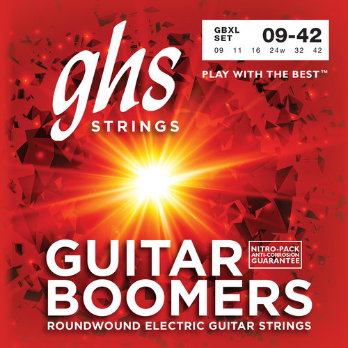 GHS GHS Boomers Extra Light, .009-.042 Electric Guitar Strings