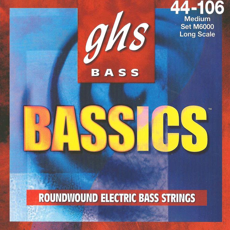 GHS GHS Bass Bassics Long Scale Bass Strings Bassics .044-.106