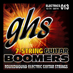 GHS GHS Boomers 7-String, Heavy, .013-.074