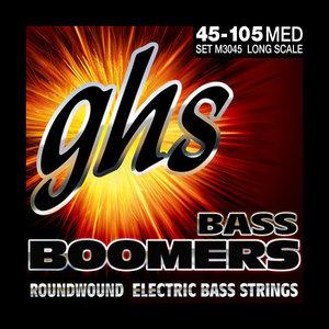 GHS GHS Bass Boomers Medium, 45-105
