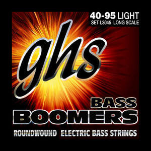 GHS GHS Bass Boomers Long Scale Bass Strings .040-.095