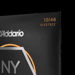 D'Addario D'Addario NYXL1046 Nickel Wound Electric Guitar Strings, Regular Light, 10-46