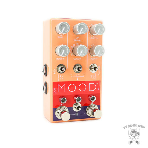 Chase Bliss Audio Chase Bliss Audio MOOD™: Granular Micro-Looper / Delay Pedal