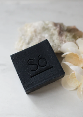 So' Luxury cleansing bar- charcoal