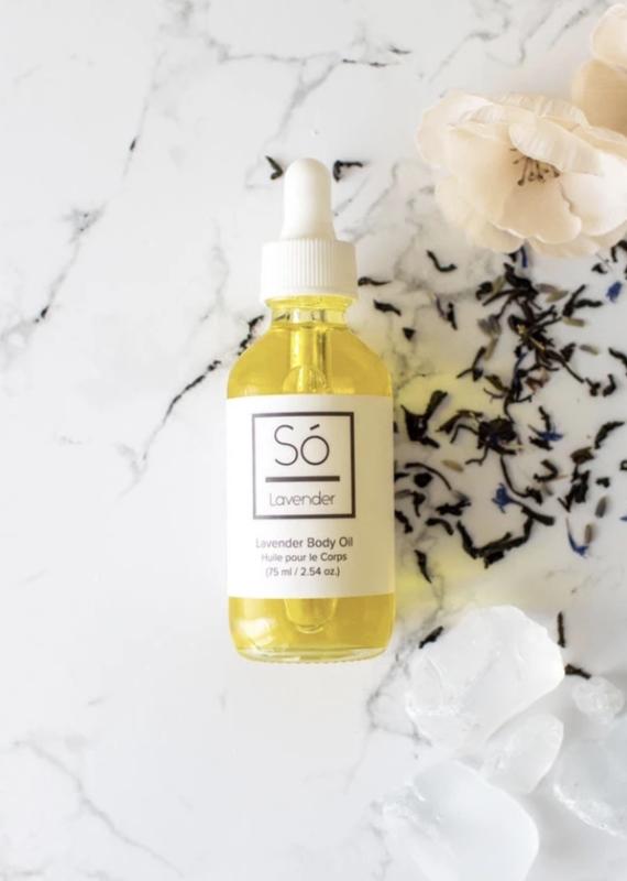 So' Luxury So' Luxury Body oil Lavender