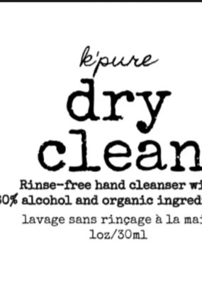 K'pure K'pure dry clean hand sanitizer