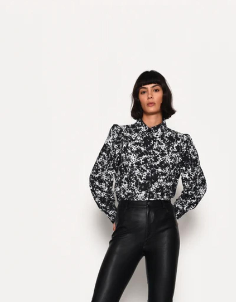 Granite blk blouse