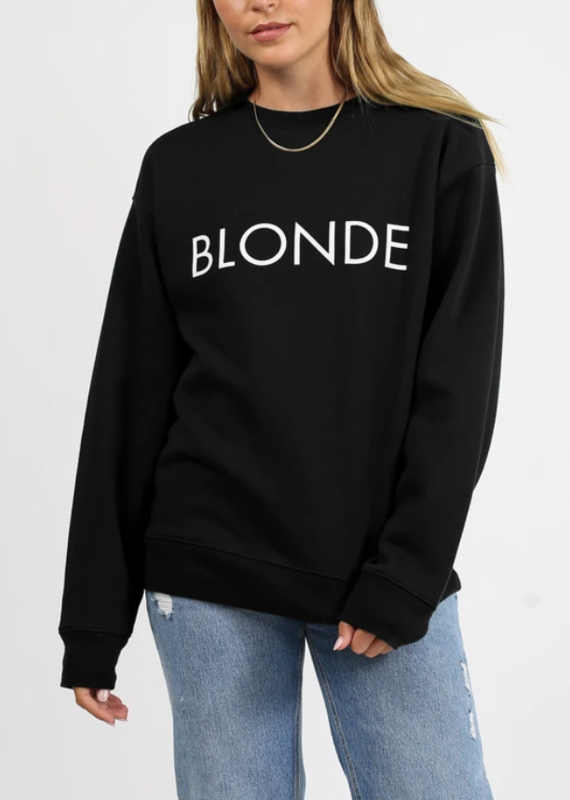 Brunette the label Blonde sweatshirt