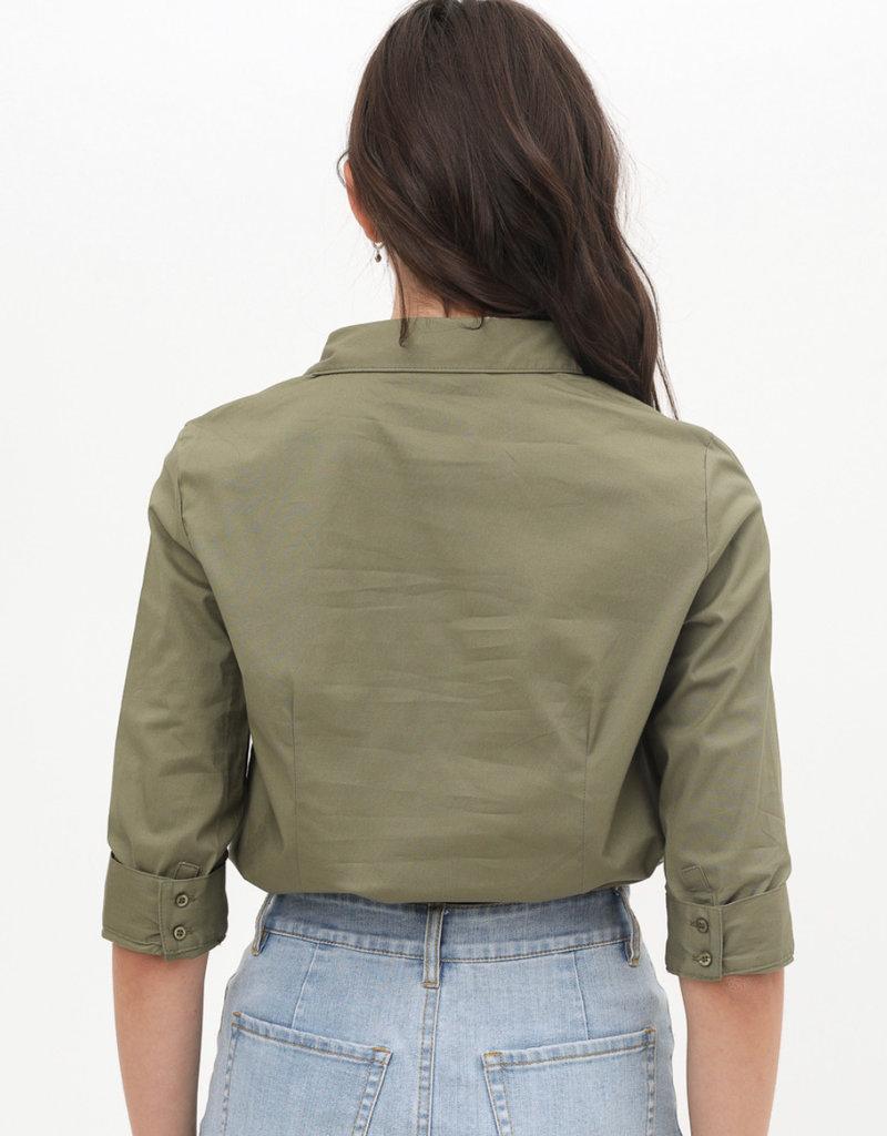 Shirt half slv