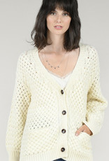button cardigan off wht