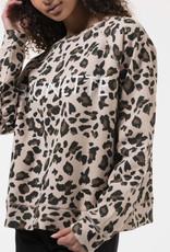 Brunette the label brunette cheetah sweatshirt