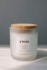 canvas candle signature collection D'anjou scent: savoury and sweet