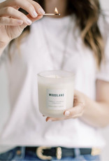 canvas candle signature collection Woodland