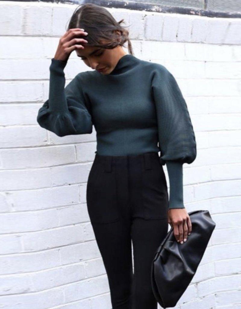 Siena knit mock