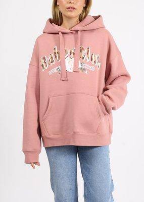 babes club hoodie-Rose