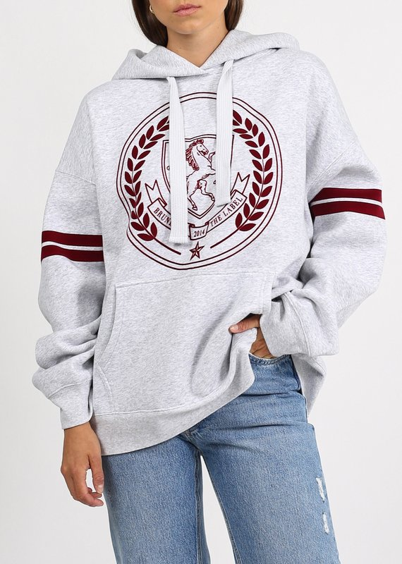 Brunette the label Horse crest hoodie