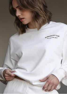 Brunette the label Babes Social Club sweatshirt