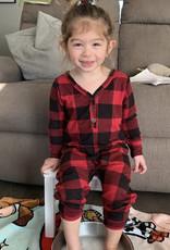 Smash + Tess Plaid Romper babe-toddler