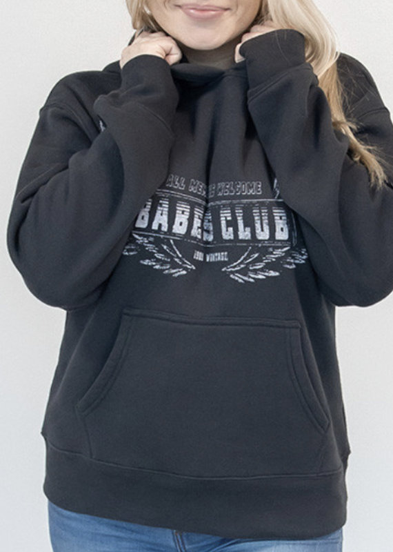 Brunette the label babes club hoodie