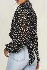 Shea dot blouse