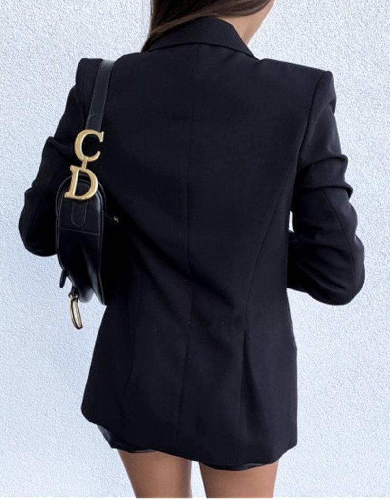 Quinn dbl blazer