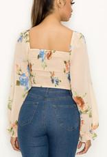 Ari floral top