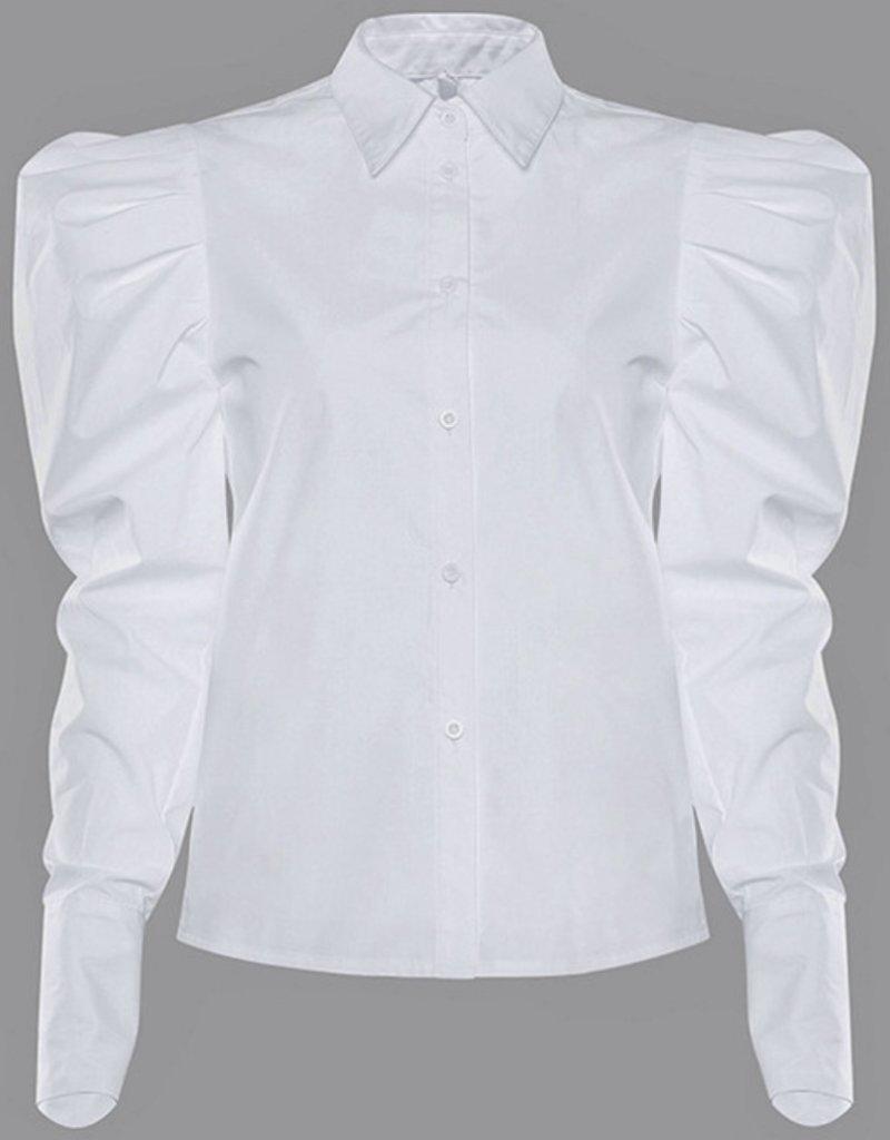 Mara puff sleeve blouse