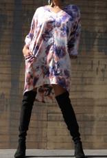 Tara tie dye tunic dress