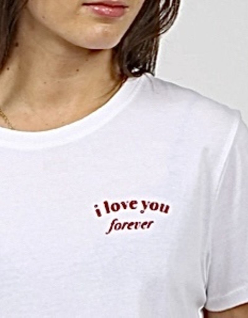 Brunette the label i love you forever t-shirt