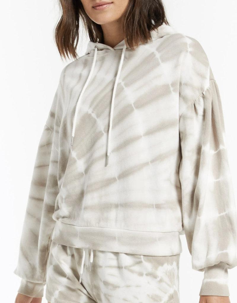 Eva spiral tie dye hoodie