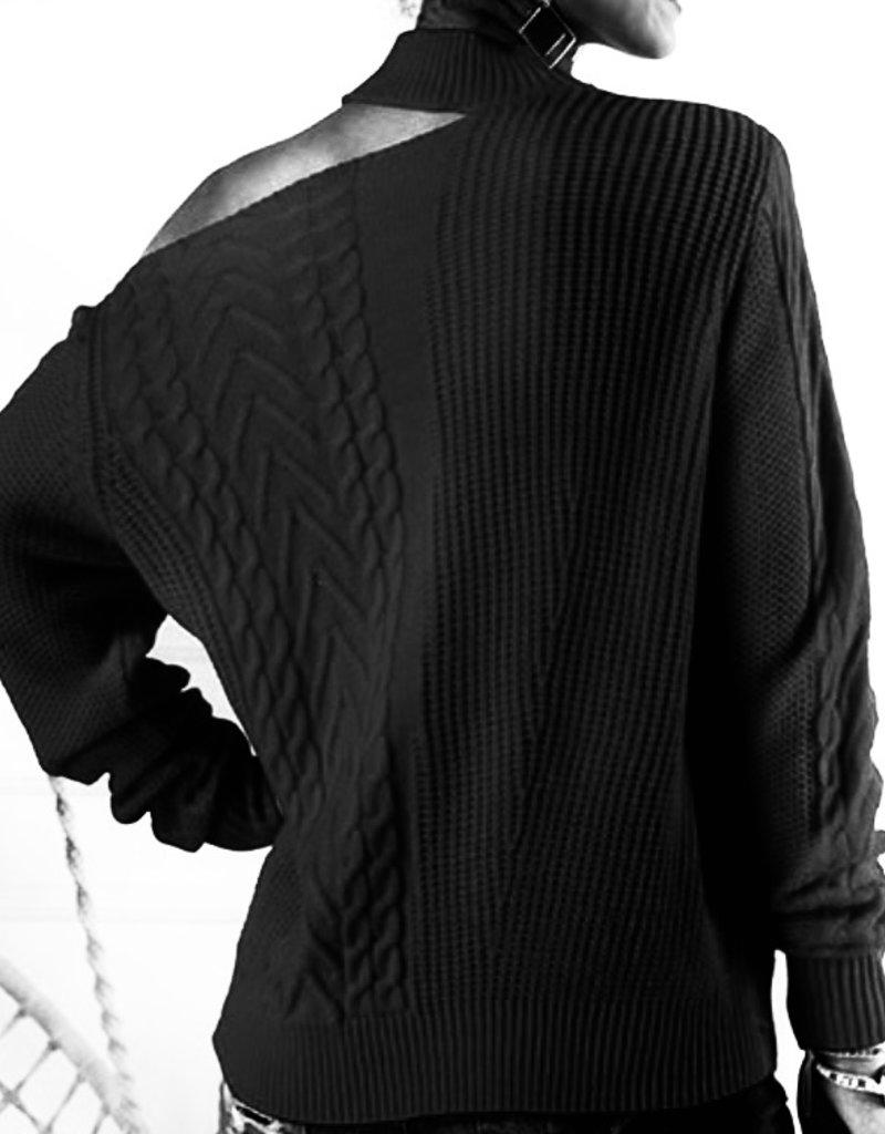 One Shoulder sweater