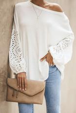 Mahia waffle knit top