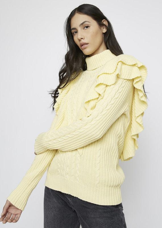 Daisy frill sweater