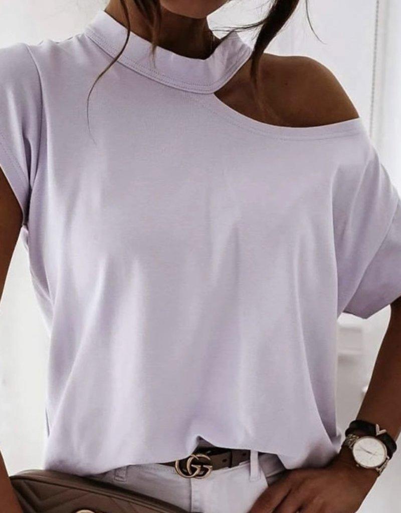 Mara One shoulder top