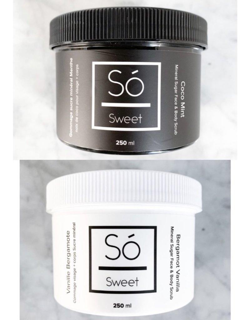 So' Luxury Sweet -face & body scrub