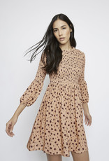 Peachy floral dress