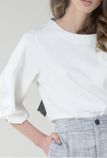 Bow tie back top