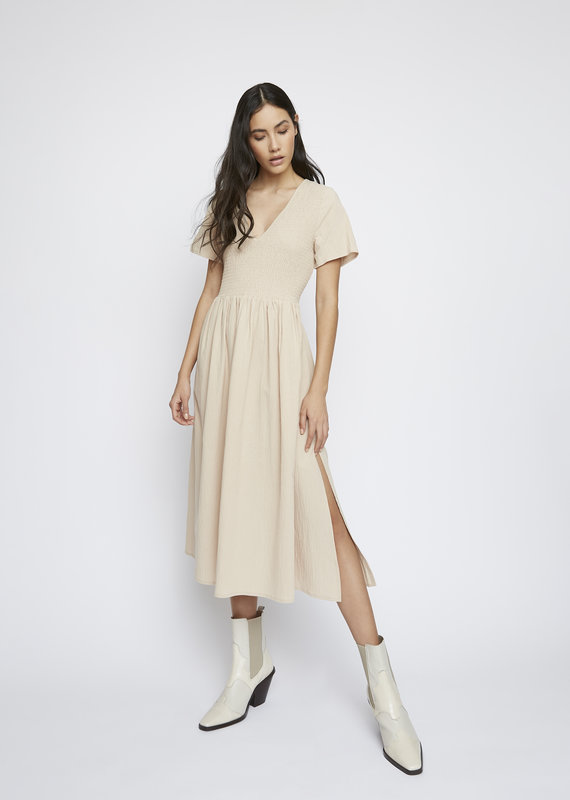 Smocked S/S dress
