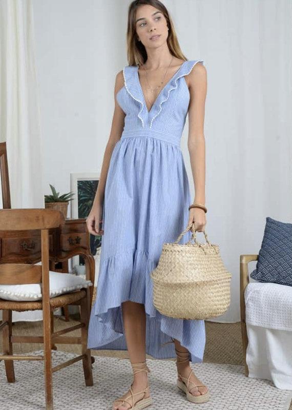 Summer cross back dress