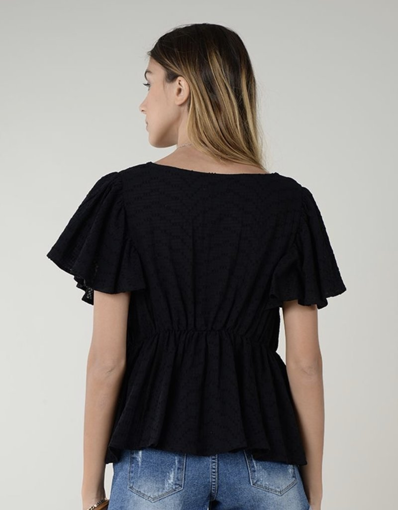 Butterfly s/s top