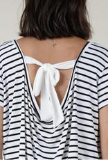 Paris stripe top tie back