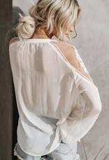 Bianca lace blouse