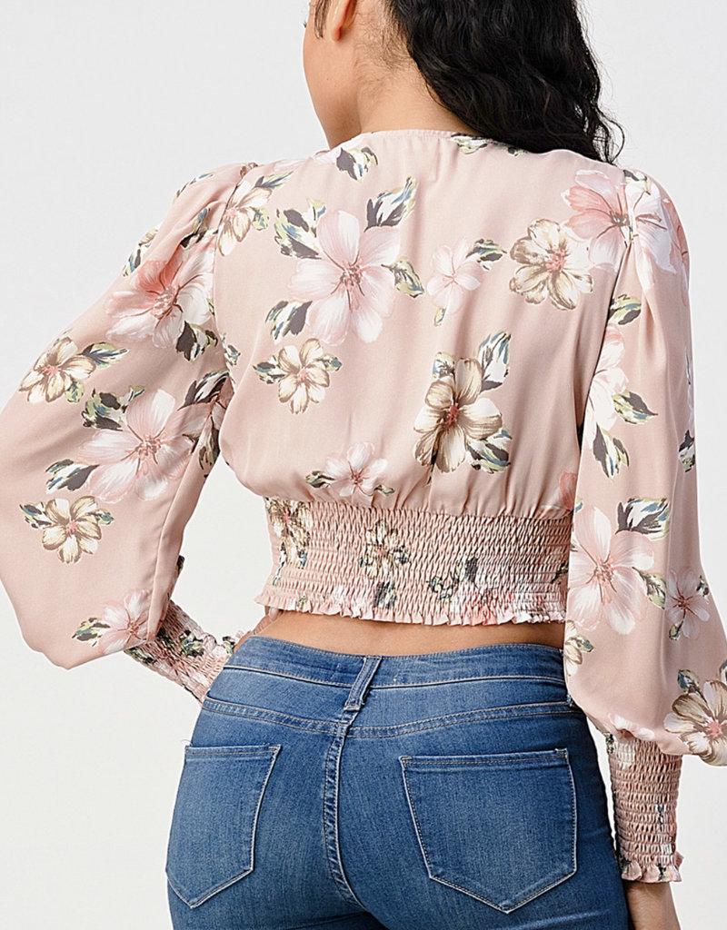 Kasey floral top