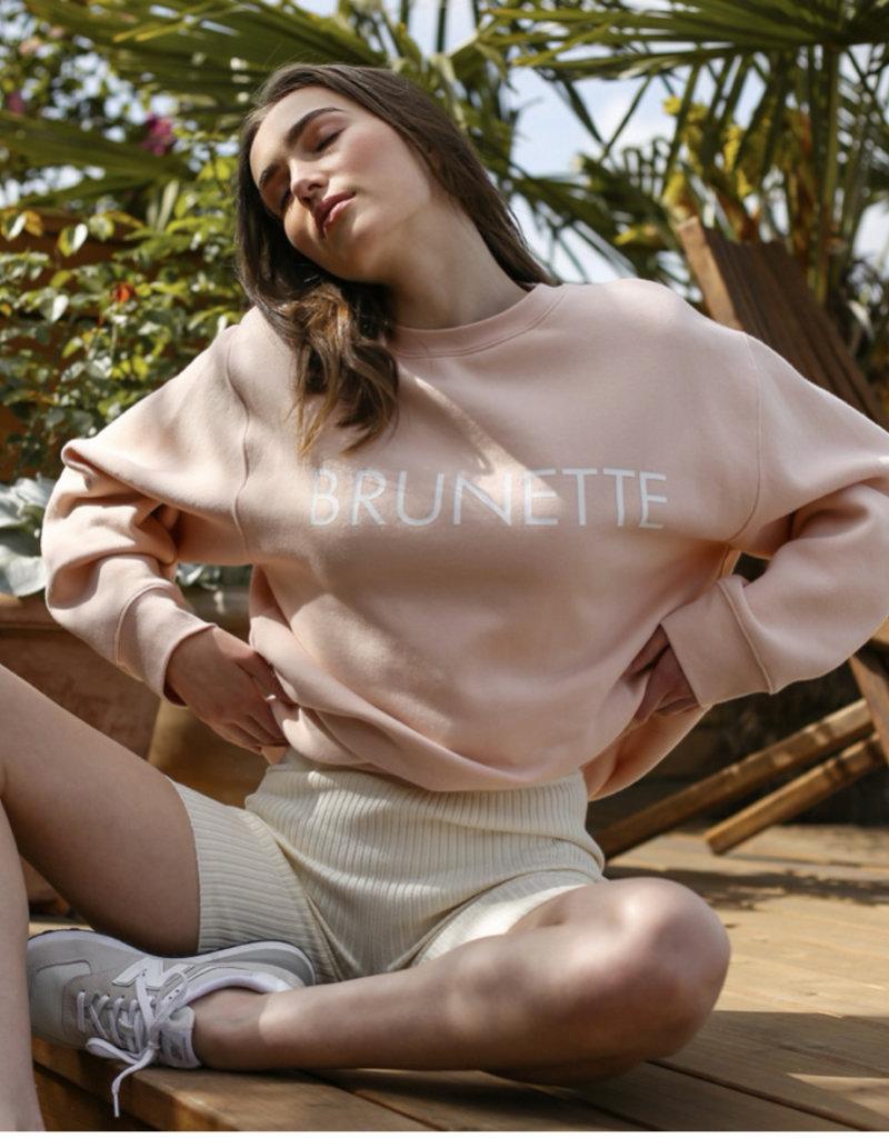 Brunette the label Core crew sweatshirt